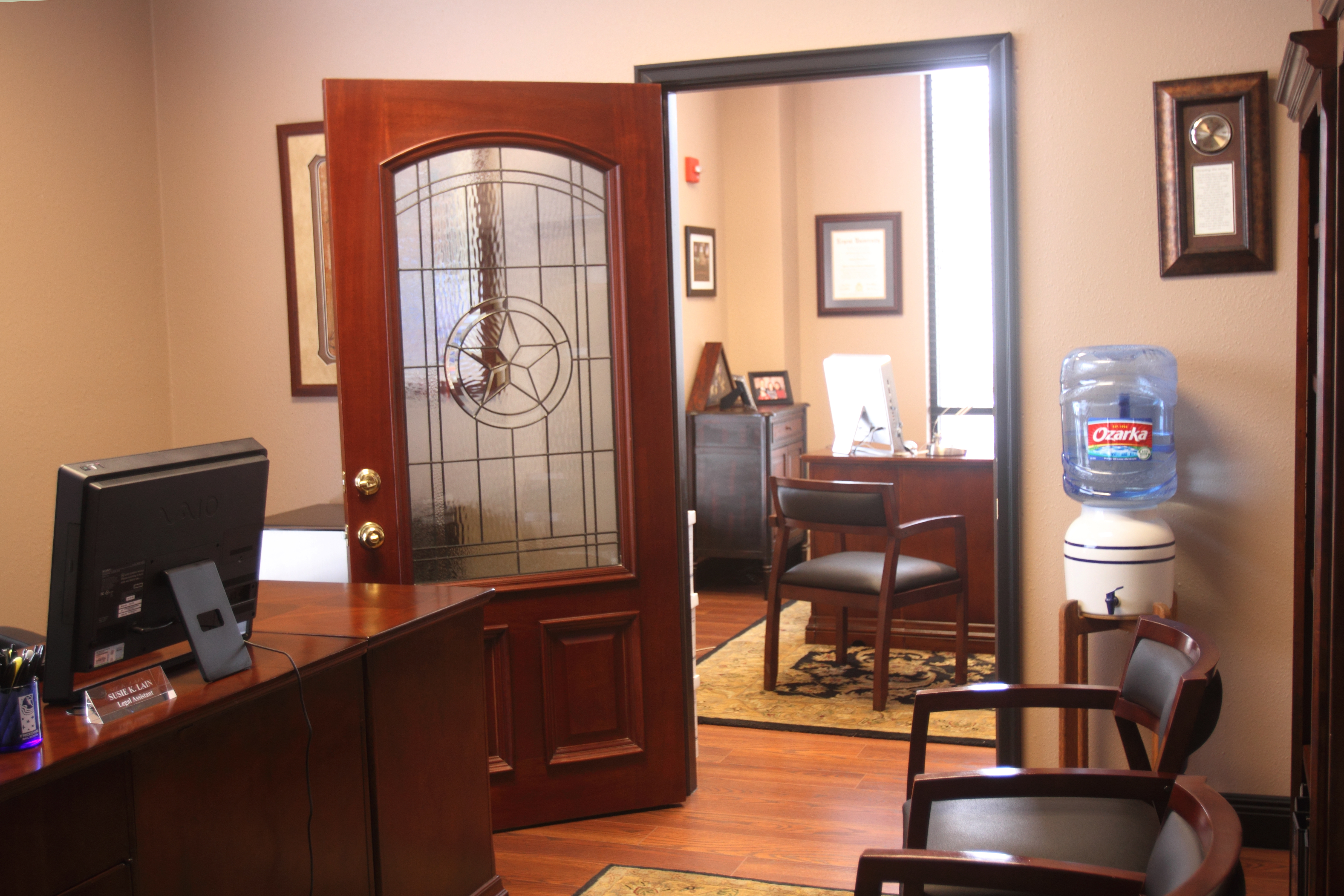 law office interior. Greg Terra Law Office Interior Experienced Attorney In Williamson County, TX